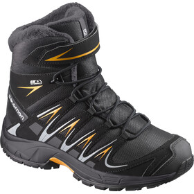 Salomon Junior Xa Pro 3D Winter TS CSWP Shoes Black/India Ink/Bright Marigold